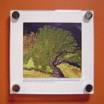 Framed Painting of a Tree